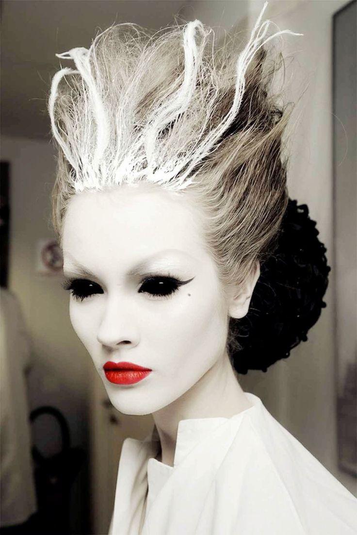 halloween makeup ideas_程天太 - 美丽鸟