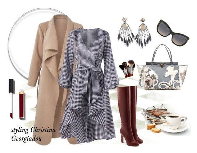 Sunday coffee time! by christina-geo on Polyvore featuring Victoria Beckham, Valentino, Balmain, Tom Ford and Chanel