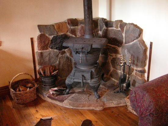 Calving Gullys pot belly stove