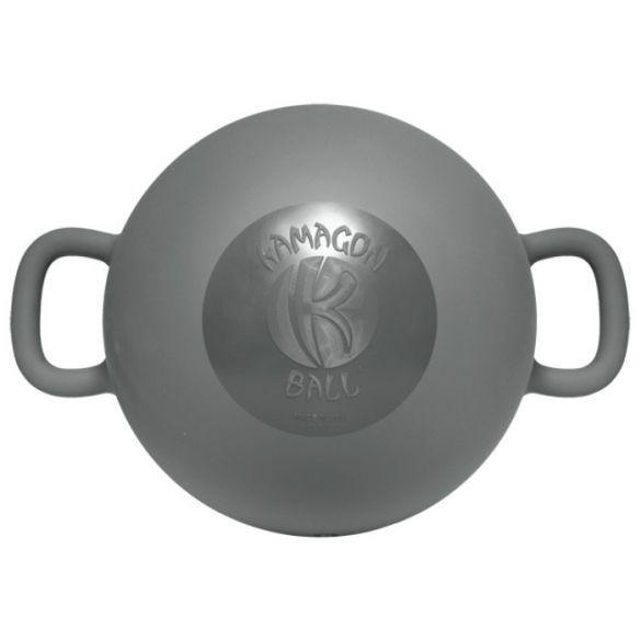 """Kamagon Ball 14""""Grijs  Description: De Kamagon Ball is uniek op het gebied van stabiliteitstraining. De Kamagon Ball (14"""") kan met water worden gevuld tot maar liefst 20 liter en maakt gebruik van hydro-inertia technology (het gebruik van water voor het creëren van een instabiele weerstand) voor het trainen met instabiliteit. Het merendeel van de huidige fitnessproducten die gebruik maken van instabiliteit worden als basis gebruikt om op te zitten staan of liggen. Daarbij werkt de…"""