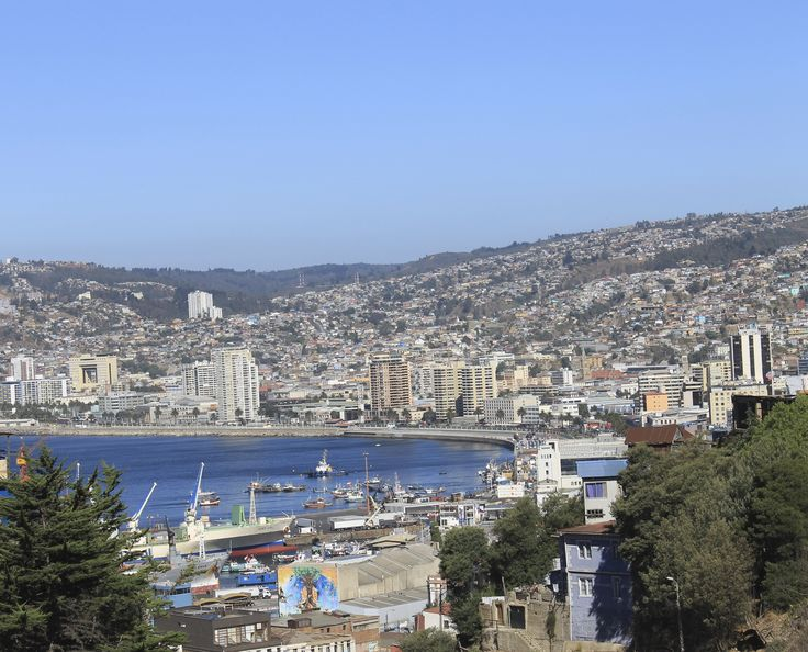 View of #Valparaiso #Chile