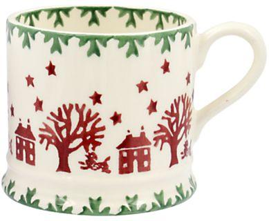 Christmas #affiliatelink #christmas #holidays #gifts   Emma Bridgewater Christmas Joy Small Mug, 142ml