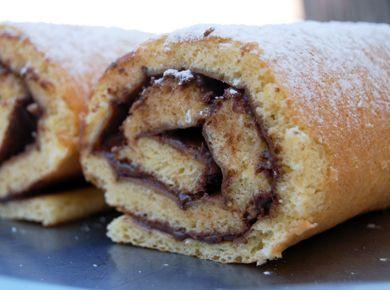 Gâteau roulé au Nutella   Jouonsensemble.fr