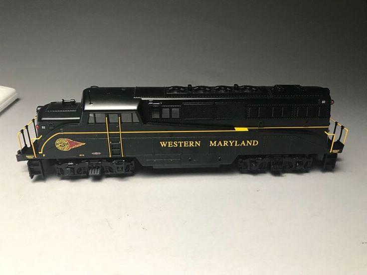 Williams Elec Trains Western Maryland Bl-2 Locomotive #82 Bl2-309    eBay
