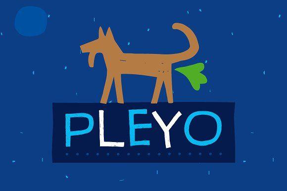 Pleyo Font Family by Tour de Force FF on @creativemarket