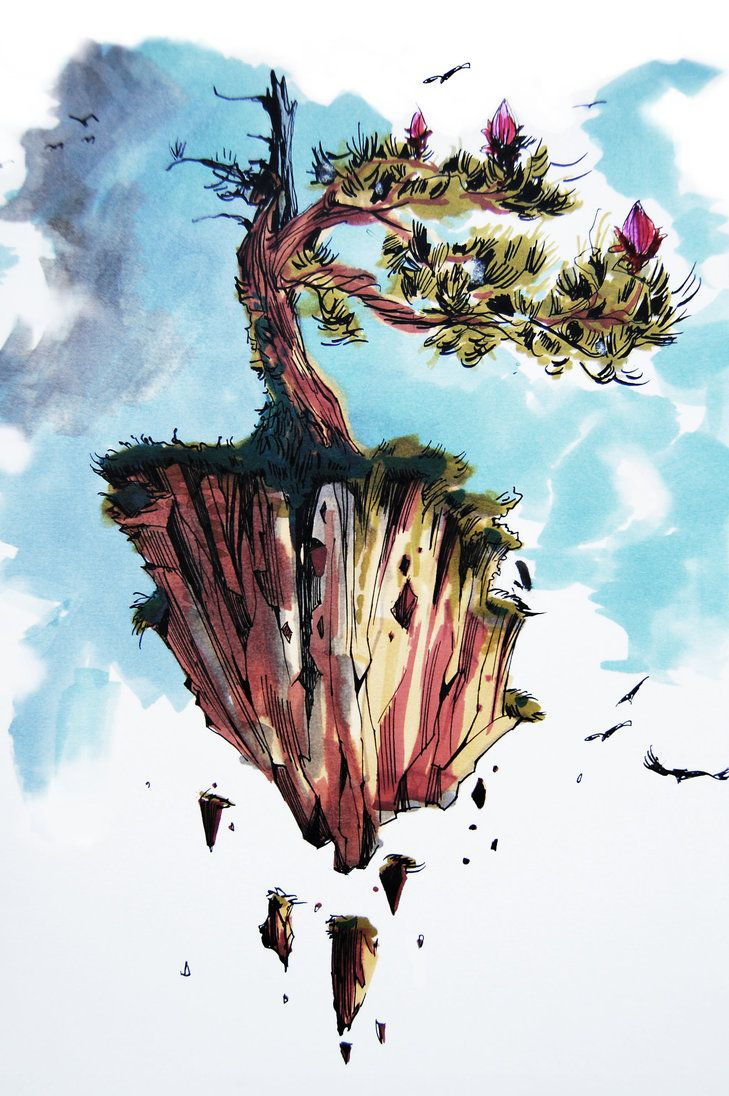 Moving island by MatusSzalontai.deviantart.com on @DeviantArt