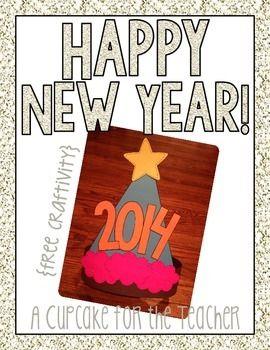 FREE New Year's Craft!