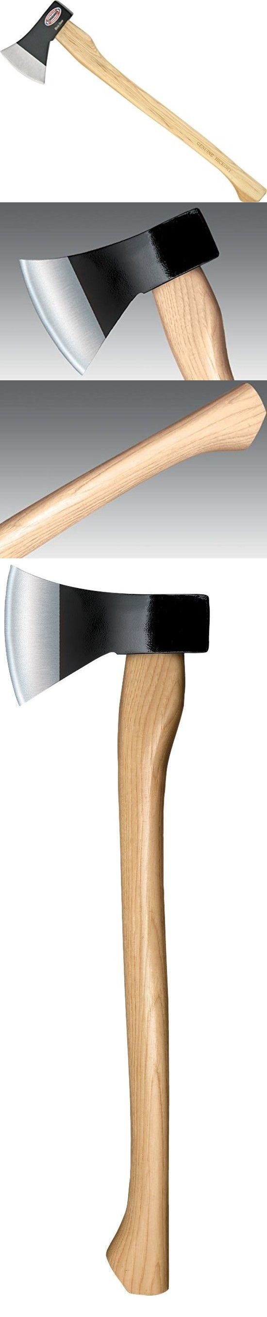 Camping Hatchets and Axes 75234: Cold Steel Trail Boss Hickory Handle Rugged Outdoor Camping Axe -> BUY IT NOW ONLY: $31.92 on eBay!