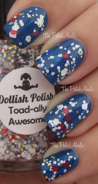 Dollish Polish - Super Mario Bros collection swatches!