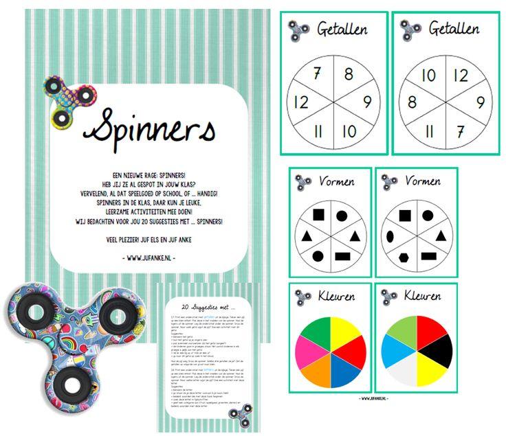 Spinners, leuk en leerzaam! Tips van Juf Anke..