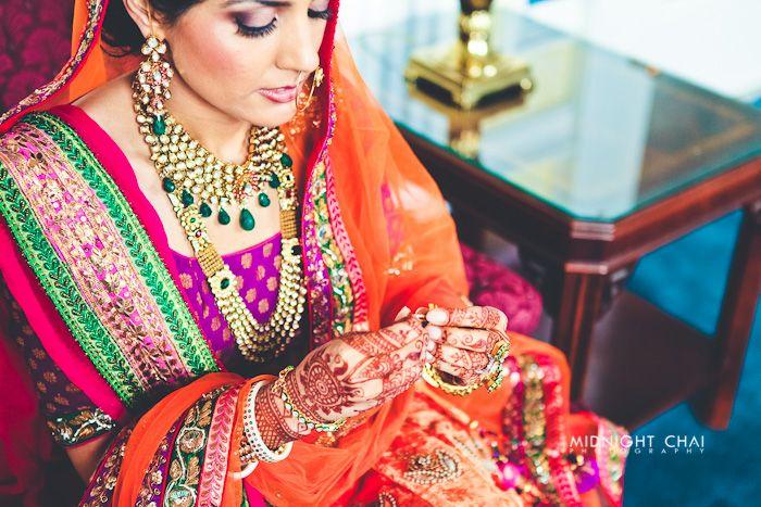 Punjabi Bride | Photo by Midnight Chai