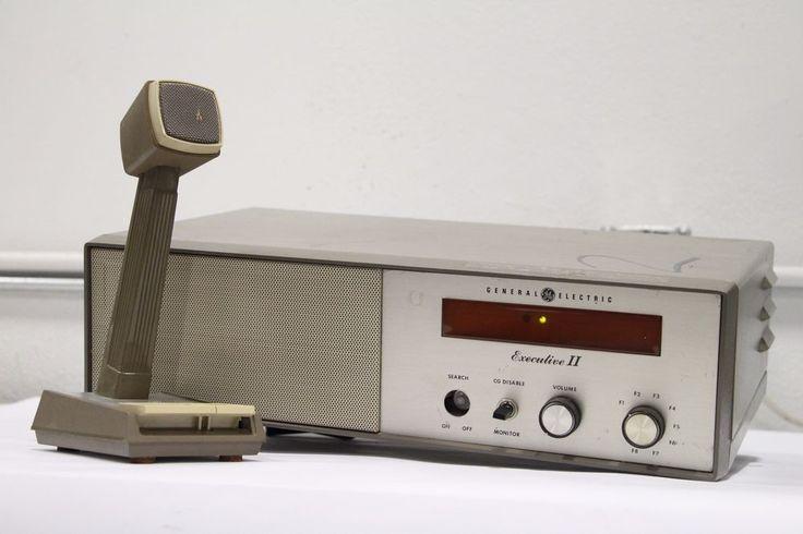 GE General Electric Mastr Executive II VHF Base Station Two Way Radio Dispatch in   eBay