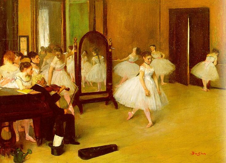 Degas Paintings | Edgar Degas : Art Master in Gallery Kyung