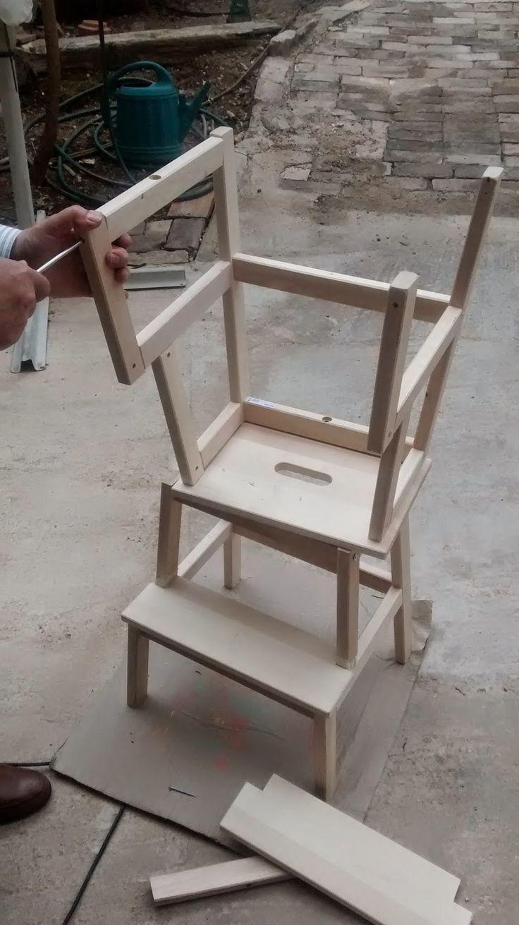 Descubriendo el mundo sin prisas: Torre de aprendizaje DIY (I) http://mrspals.com/?product_tag=threads