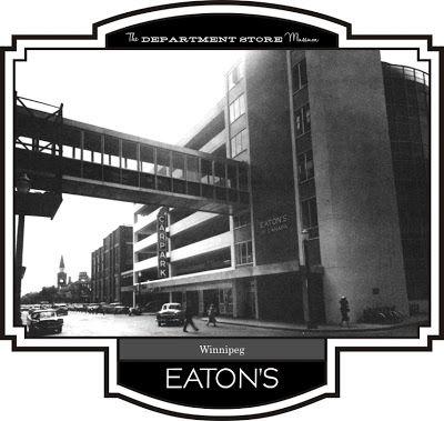 1950s The T. Eaton Co., Ltd., Winnipeg, Manitoba, Canada parkade