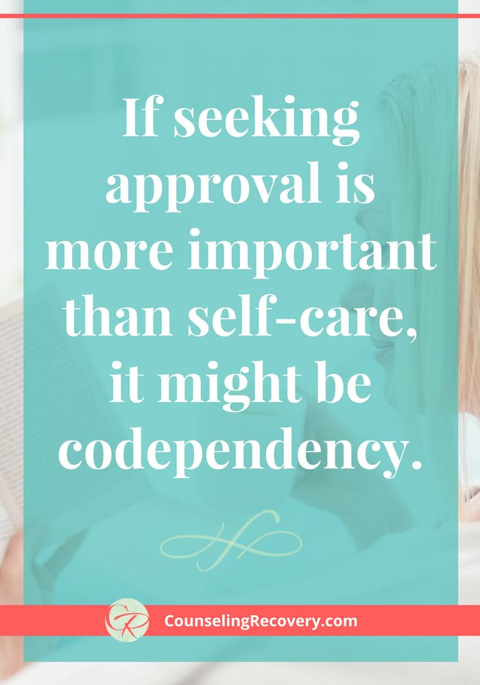 Codependent dating signs