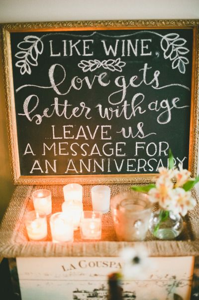 Adorable wedding sign: http://www.stylemepretty.com/little-black-book-blog/2014/11/21/romantic-wedding-at-the-loft-on-pine/ | Photography: Onelove - http://www.onelove-photo.com/