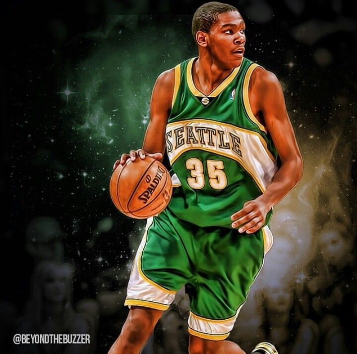 Kevin Durant/Seattle Supersonics