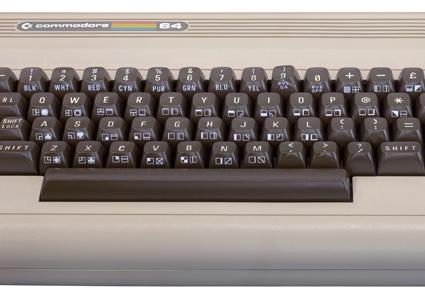 Retro rock - Commodore 64.