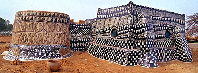 Bom Lero: Tiébélé, uma vila africana em que as casas são obras de arte