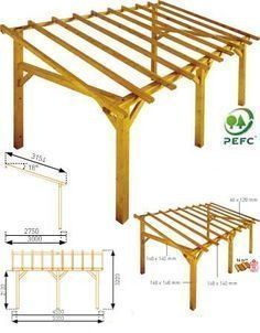Tin Roof Lean to Free Standing