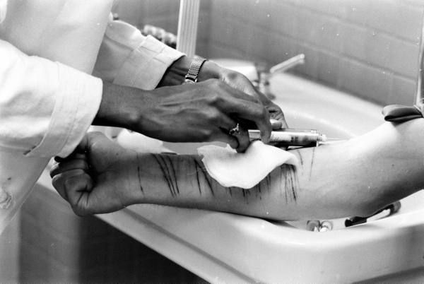 Mental Hospital         Date taken:    1964  They used to put us cutters in mental wards,now nobody cares what we do to ourselves