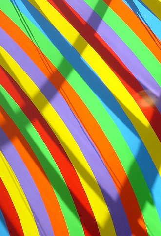 17 best images about multi coloured stripes on pinterest candy bags pastel and striped fabrics for Rainbow color stripe watch