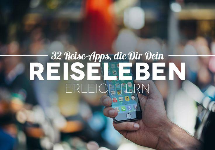 Mittlerweile gehört das Smartphone einfach mit auf eine Reise, auch auf eine Weltreise. Diese Reise-Apps erleichtern Dir das Reisen.