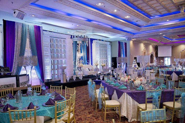 indian reception decor paradise banquet hall - Google Search
