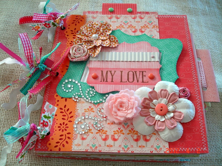 how to make a scrapbook fast
