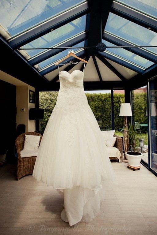 cintre de mariage personnalis pour robe de par