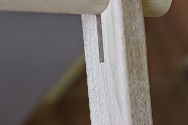 Floor Stand Scroll Frame F.A. Edmunds