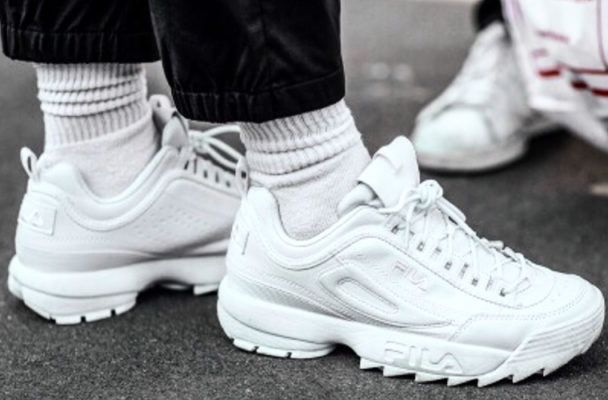 Chunky sneakers are athleisure's