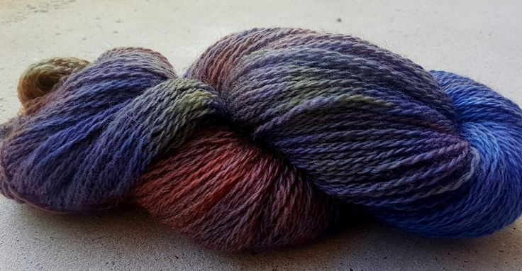 Hand dyed Peruvian highland wool by RidgetopFibreStudio on Etsy