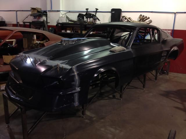 how to build a drag car chassis