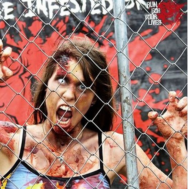 RUN FOR YOUR LIVES!  Forget Tough Mudder this obstacle  course will get you running faster than you have ever run before.