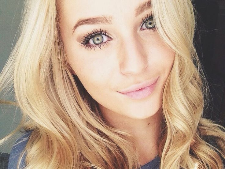 Ombre hair tumblr blonde