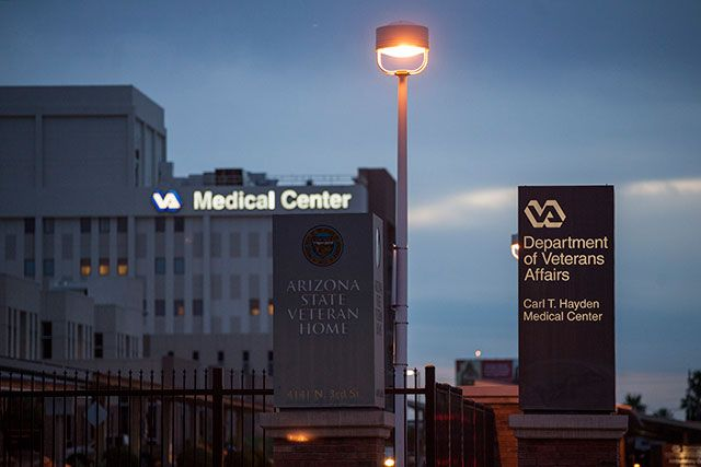 A Veterans Affairs medical center in Phoenix, among many plagued by delays, May 29, 2014. Sen. (Samantha Sais / The New York Times)