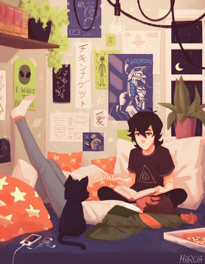 imma just pretend that Keith's shirt is a gravity falls reference