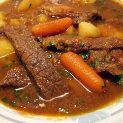 Carne de panela tradicional