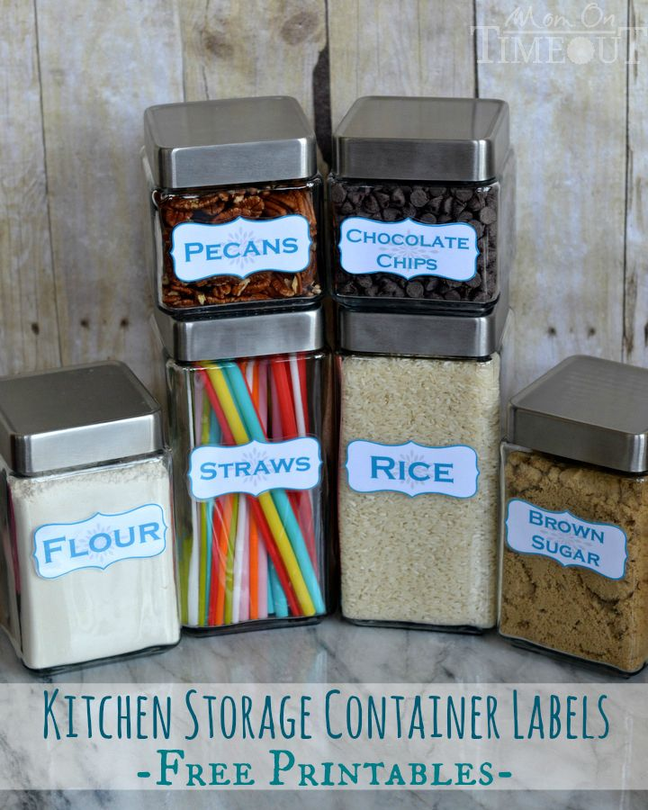 Kitchen Bin Storage Ideas: 25+ Best Ideas About Kitchen Storage Containers On