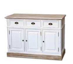 Cabinet W/3 Drawer + 3 Door 121*40*85,5cm