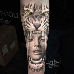 Resultado de imagem para tattoo wolf amazone