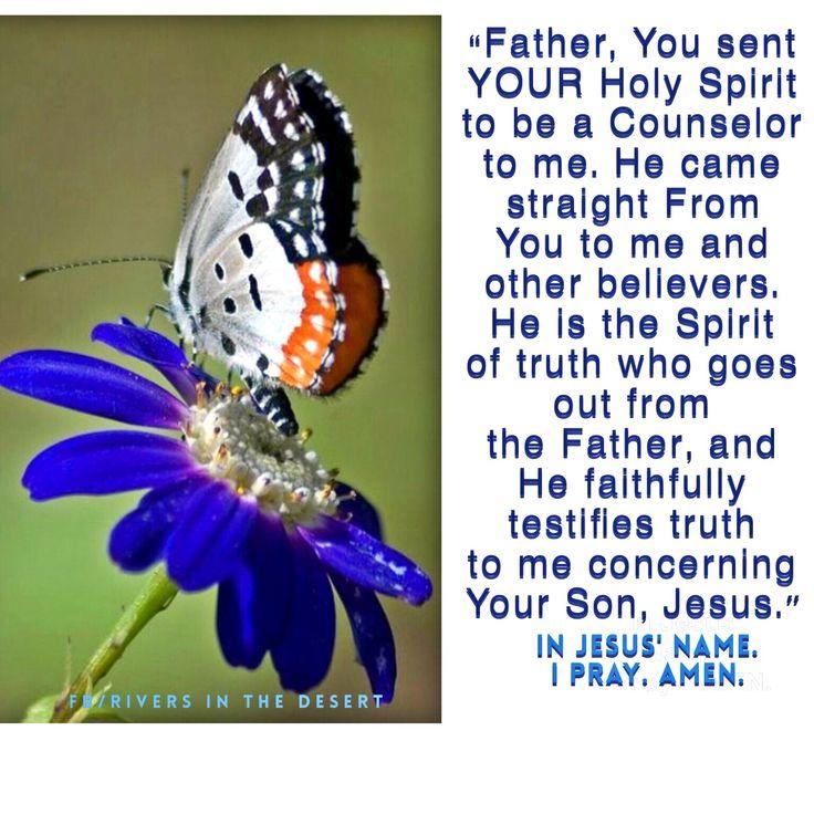 Prayer concerning John 15:26