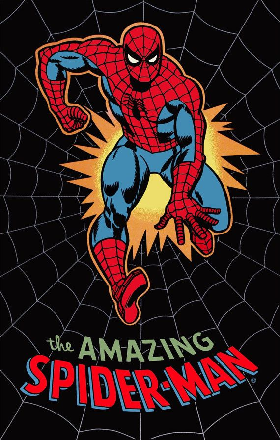 This sale is for a very cool THE AMAZING SPIDERMAN retro look poster done as a stand-up display *** NOTE: This auction is for the stand-up display OF the poster - NOT FOR the poster itself. *** This same item is available a poster in the POSTER section. This item measures in at approx 8 1/4 inches wide x 10 1/4 inches tall. An awesome looking display thatll make your Marvel / Comic collection stand up and out from the rest!! If youre into the old school look comic collectibles and poster…