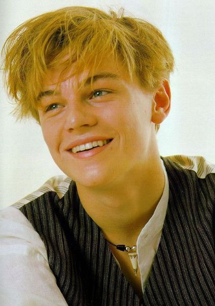 Photo of Young Leo for fans of Leonardo DiCaprio.