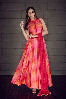 Love the Silk Kurta Churidar from BenzerWorld!