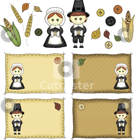 Thanksgiving Name Tag Ideas: Icons Vector, Crafts Ideas, Tags Ideas, Names Tags, Holidays Crafts, Thanksgiving Icons, Cottages Ideas, Art Pilgrims, Clever Crafts