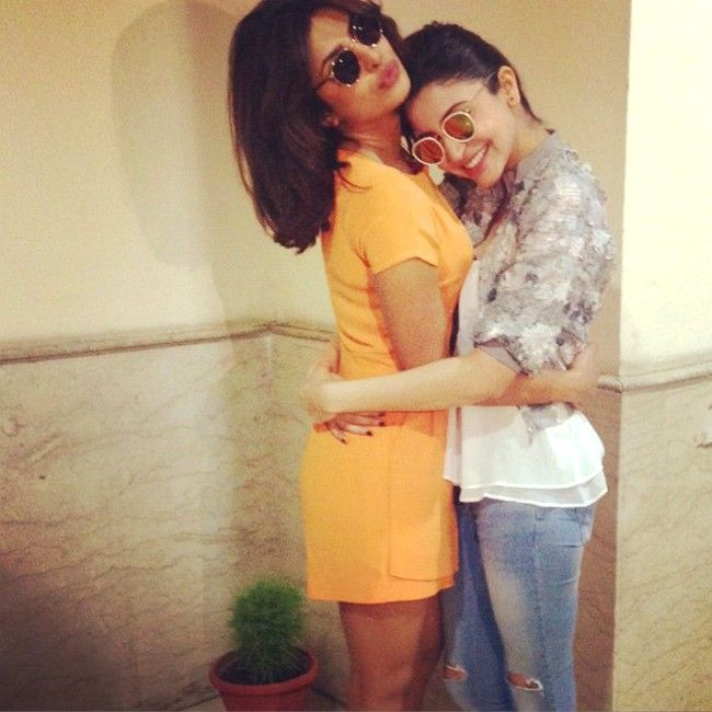 Photo of the day: Priyanka Chopra, Anushka Sharma all hugs and warmth