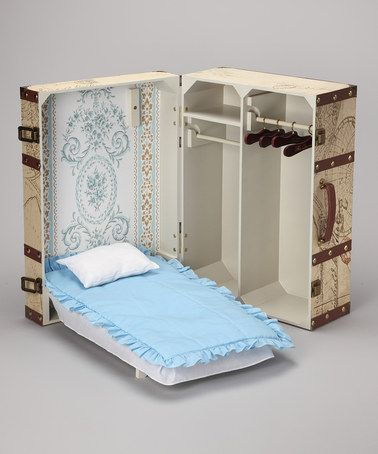Take a look at this Doll Trunk Set by The Queen's Treasures on #zulily today!